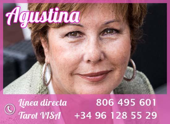 las mejores tarotistas por teléfono: Agustina