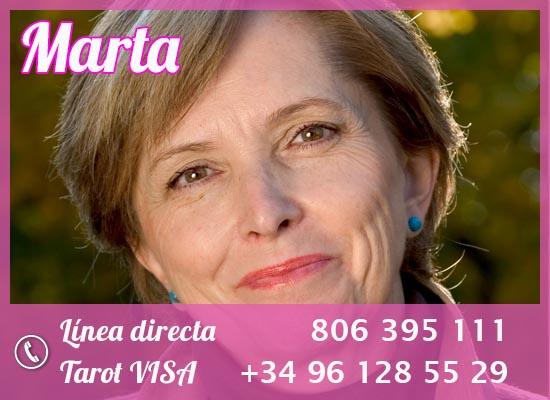 mejores tarotistas por teléfono; Marta