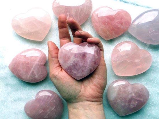 cuarzo rosa amor