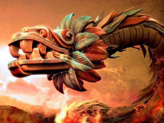 quetzalcoatl-serpiente maya