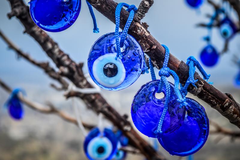 ojo turco amuleto de protección