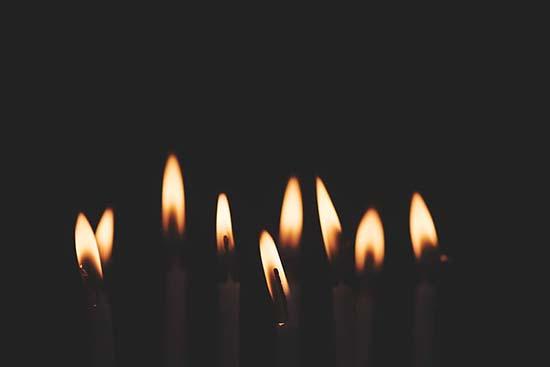 ritual de dominio de nueve velas