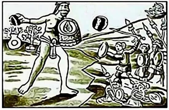 Quinametzin guerreros gigantes
